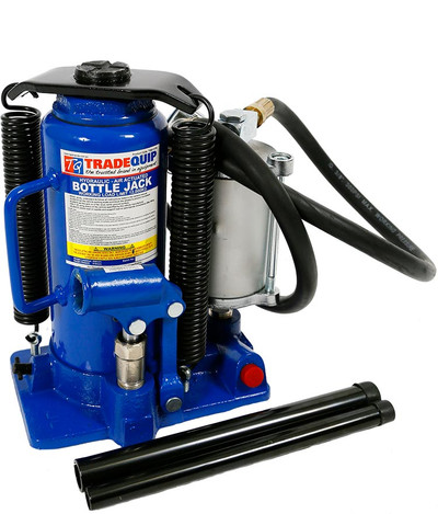 TRADEQUIP AIR ACTUATED BOTTLE JACK 12000KG