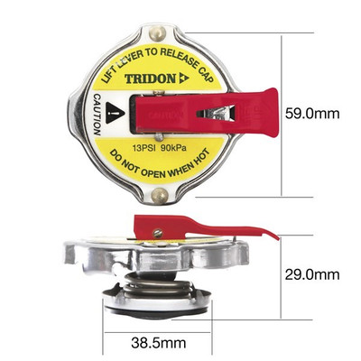 TRIDON CA16110L RAD.CAP - SAFETY LEVER