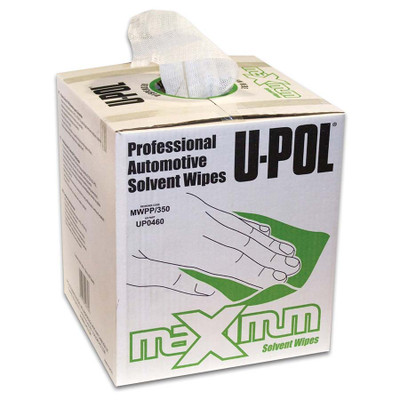 UPOL SOLVENT WIPES LINT FREE CTN 350