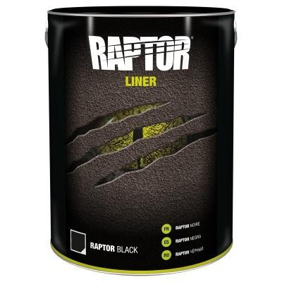 UPOL RAPTOR BLACK - 7.5L KIT