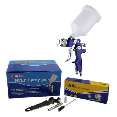 CAM HLVP GRAVITY SPRAY GUN - with a 1.4mm & 2.0mm set up