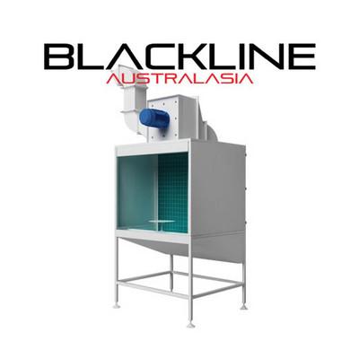 BLACKLINE SPRAYOUT CABINET