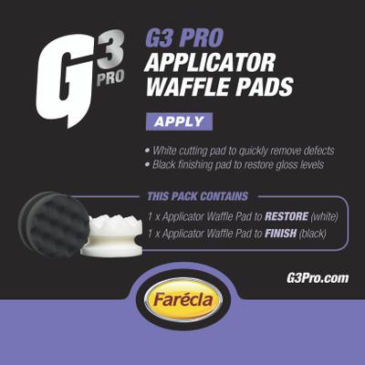 G3 Pro Applicator Waffle Pads