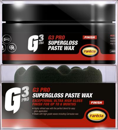 G3 Pro SuperGloss Paste Wax
