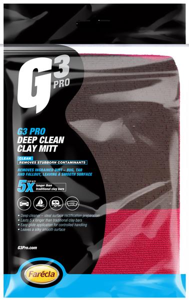 G3 Pro Deep Clean Clay Mitt