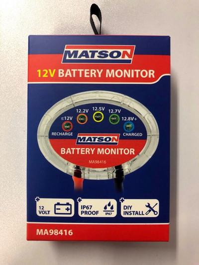 MATSON 12V BATTERY MONITOR