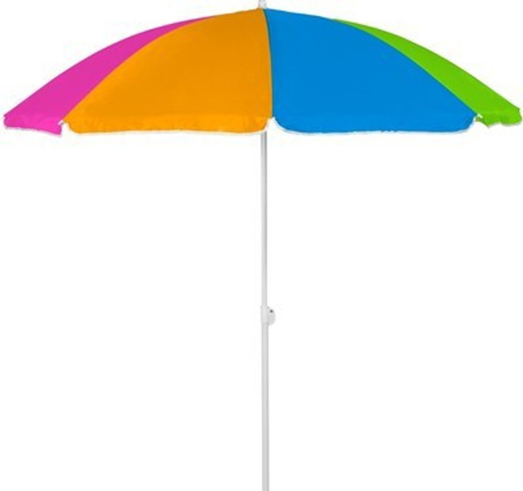 6ft Poly Nylon Beach Umbrella