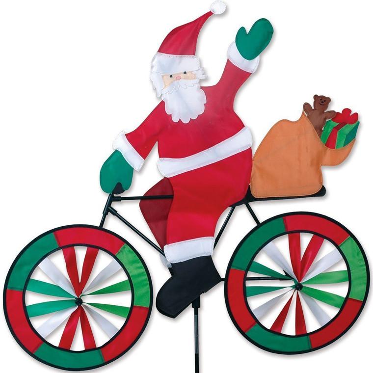 """20"""" Santa Bike Spinner"""