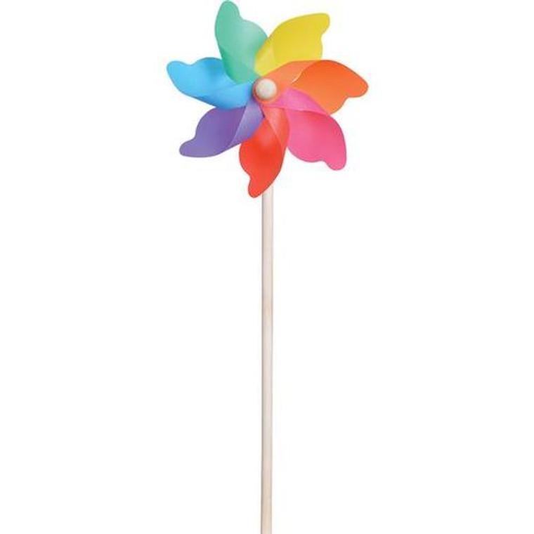 "7"" Rainbow Pinwheel"