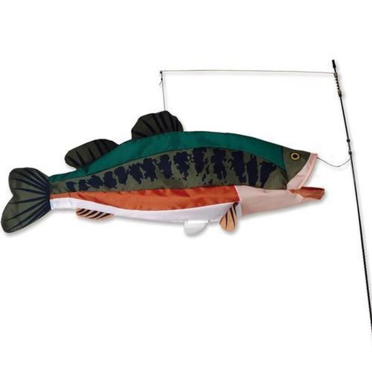 Bass Swimming Fish
