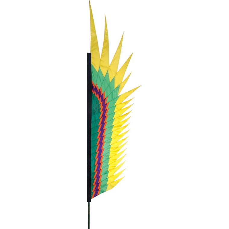 Electra Yellow Feather Banner