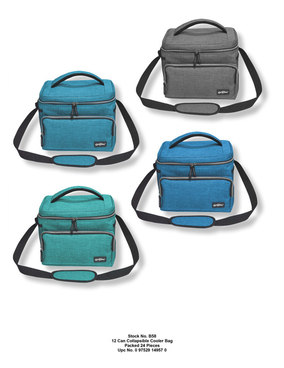 12 Can Collapsible Cooler Bag