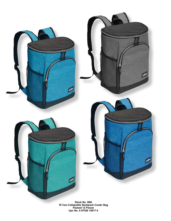 18 Can Collapsible Backpack Cooler