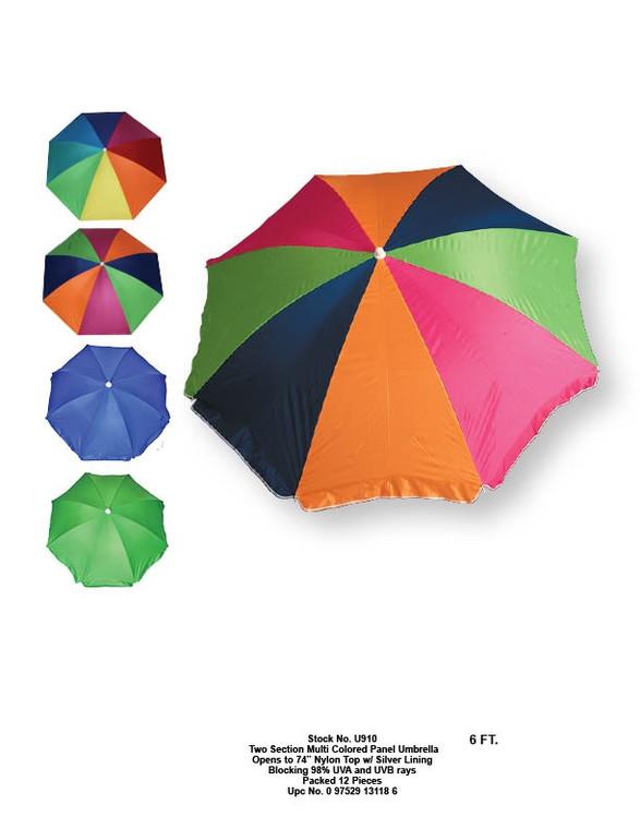 6ft. Beach Umbrella