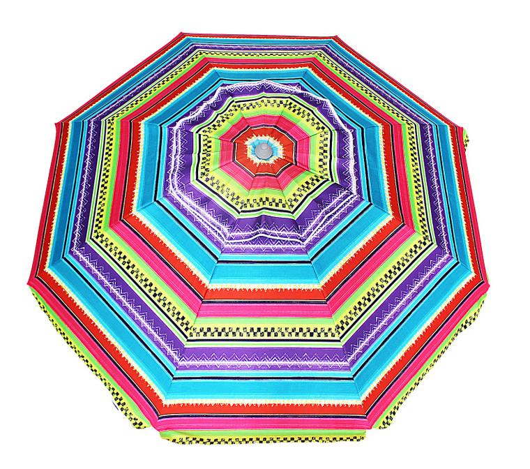7.5ft fiberglass w/ anchor umbrella