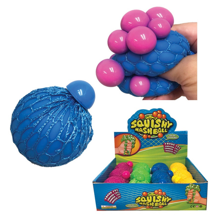 """3"""" Color Change Squeeze Mesh Ball"""