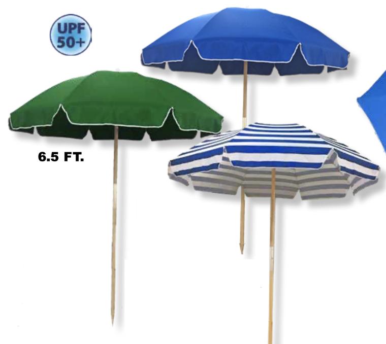 Wood Pole Umbrella