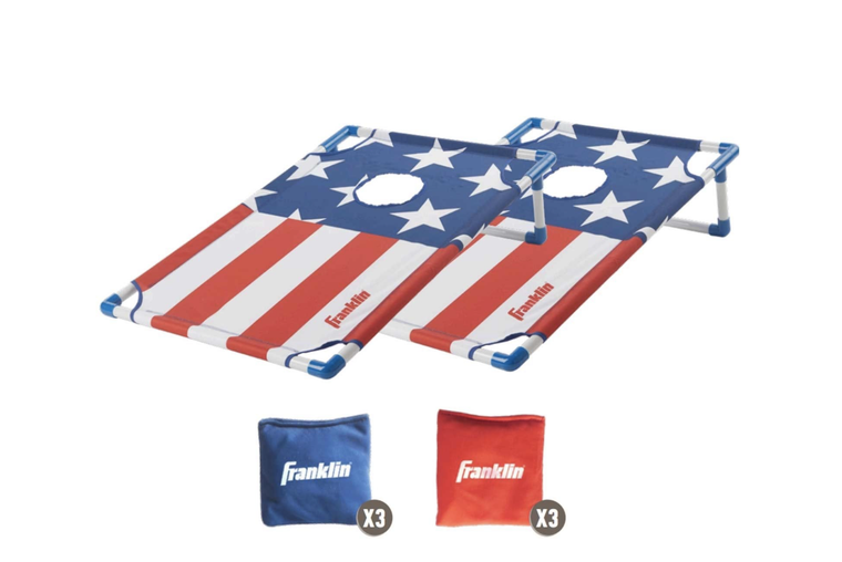 Red, White, and Blue Cornhole