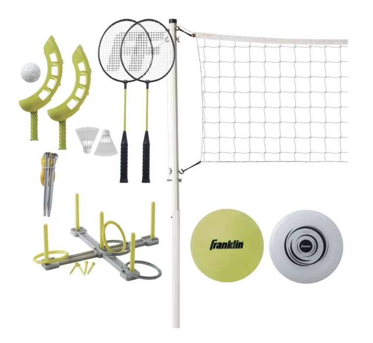 5 Game Outdoor Combo Set