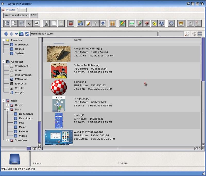 Workbench Explorer 2 4 New update * Worldwide free download* - Amiga