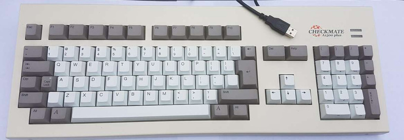"New A500 Replacement Keyboard with Full set of ""Amiga"" keycaps"
