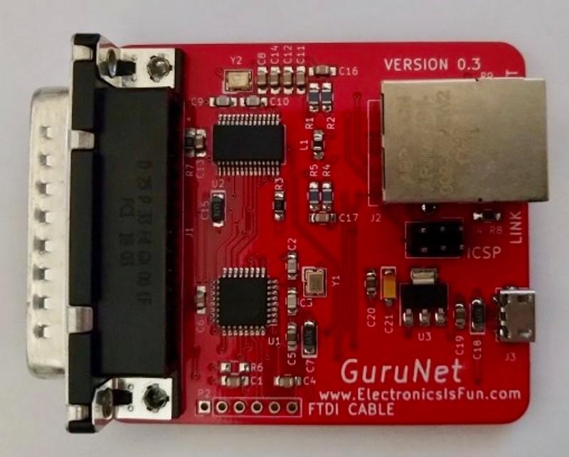 GuruNet Amiga Ethernet adaptor