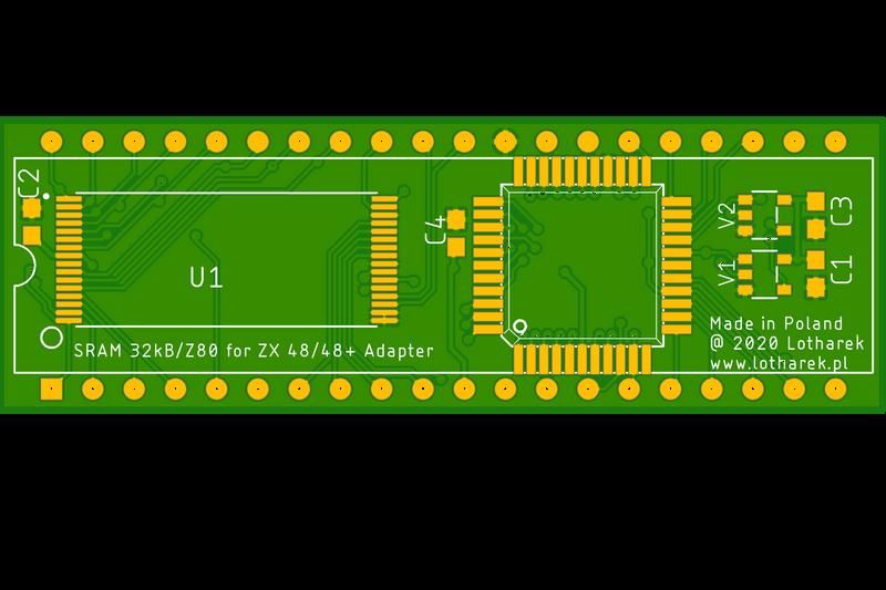 Z80SRAM - RAM / CPU module