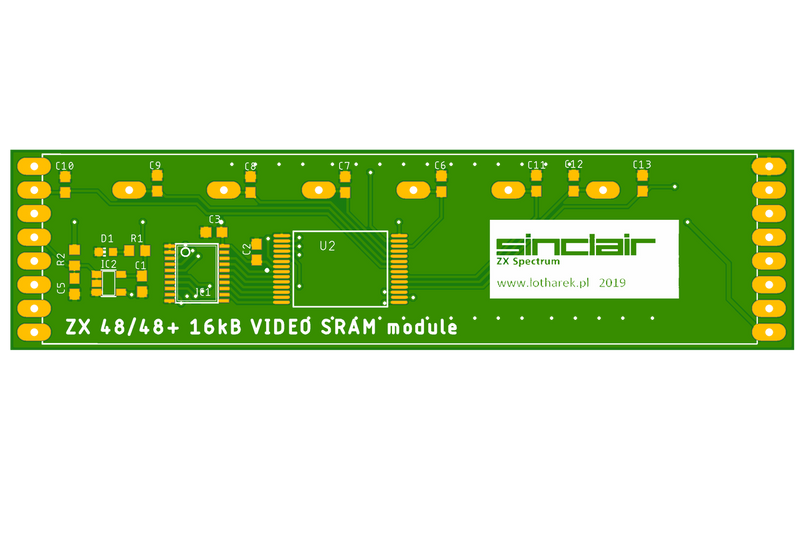 Video 16kB SRAM module