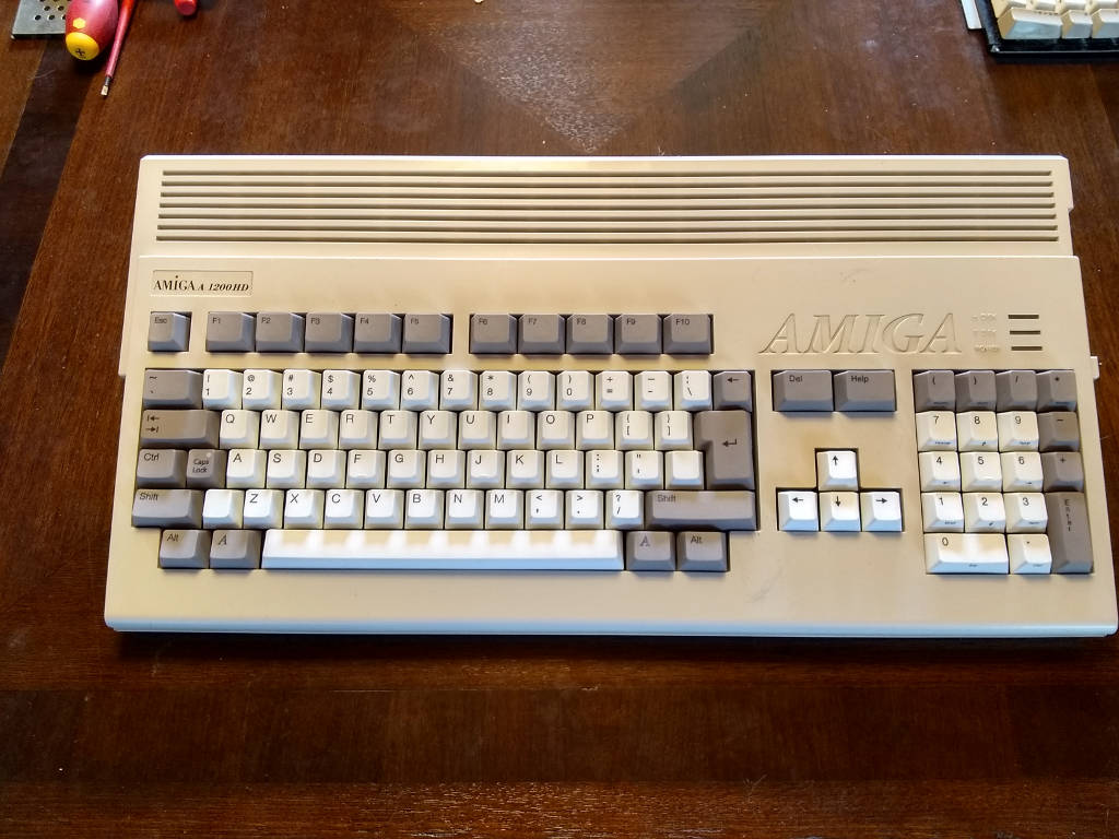 May 2020 Amiga 500 and Amiga 1200 Kipper2k replacement keyboard update.