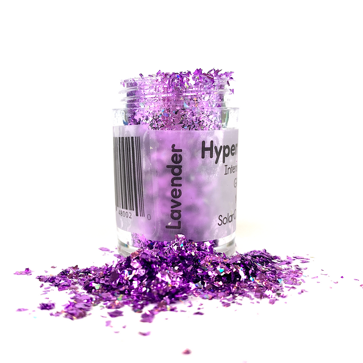 Hyper Holo™ Flakes - Lavender - Purple Intense Holographic Flakes