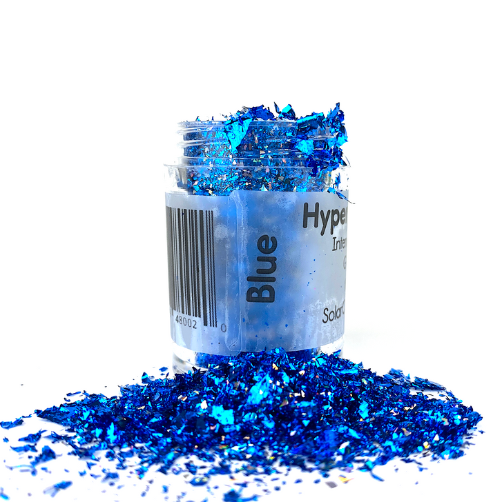 Hyper Holo™ Flakes - Blue - Intense Holographic Flakes