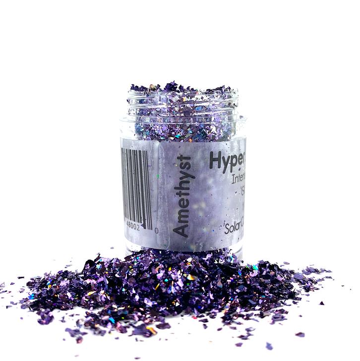 Hyper Holo™ Flakes - Amethyst - Purple Intense Holographic Flakes