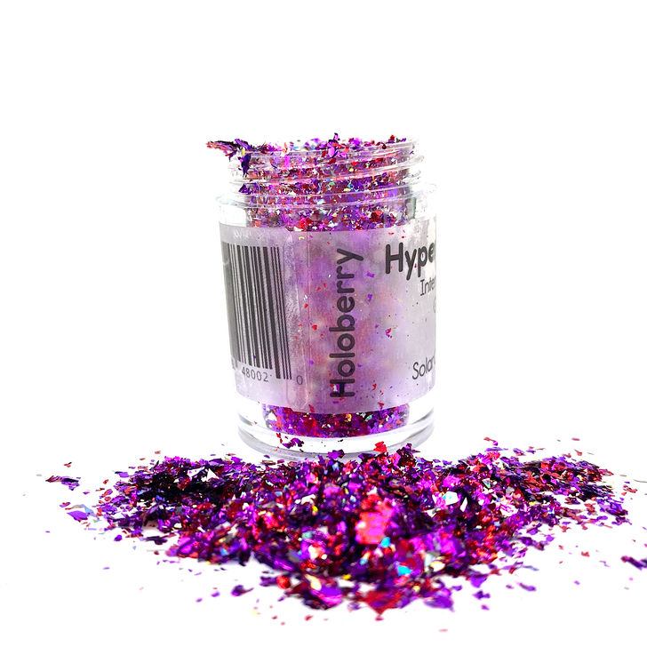 Hyper Holo™ Flakes - Holoberry - Purple & Red Intense Holographic Flakes
