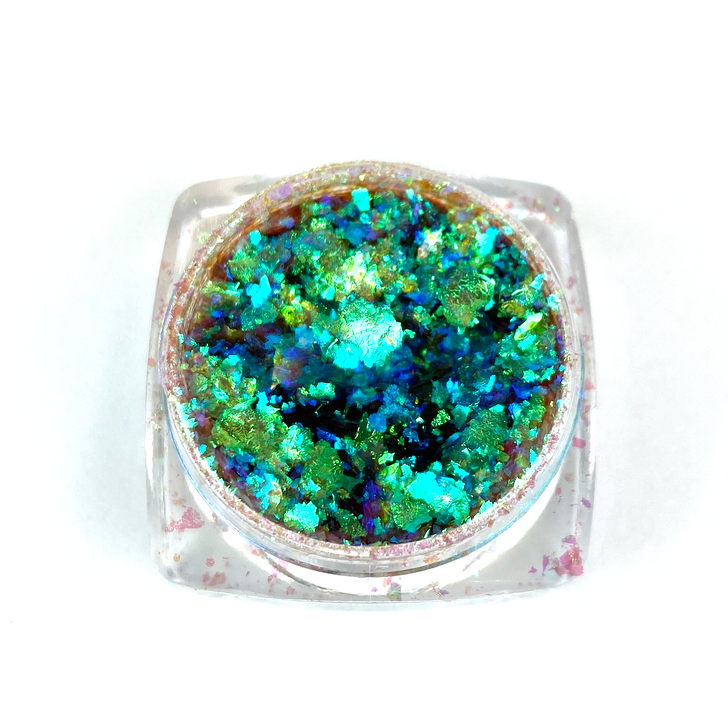 IllumiFlakes - Beacon - Iridescent Color Shifting Flakes - Ultra Bright and Vibrant Flakes for Resin, Nails, Tumblers, and More!