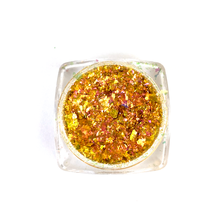 IllumiFlakes - Flame - Iridescent Color Shifting Flakes - Ultra Bright and Vibrant Flakes for Resin, Nails, Tumblers, and More!