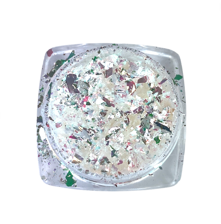 IllumiFlakes - Lucid - Iridescent Flakes for Resin, Nails, Tumblers, Clay, and More! Specialty Arts & Crafts Flakes from SolarColorDust.com