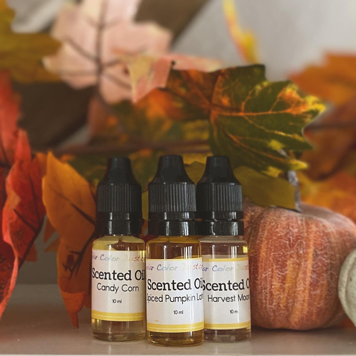 Autumn Scented Oils, Fall Scents, Scents for Candle making, Wax Melts, Soaps, Slime, and more! Pumpkin Spiced Latte, Candy Corn, Harvest Moon
