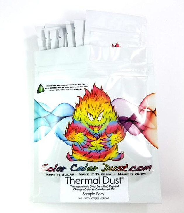 Thermal Dust - Heat Activated Color Changing Thermochromic Pigment
