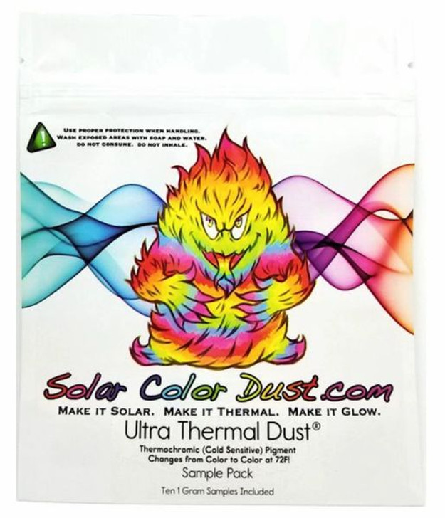 Thermal Dust 72ºF - Sample Pack! - Cold Activated