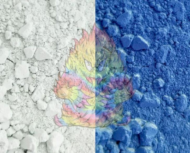 SolarColorDust® - White to Marine Blue - Sunlight Sensitive