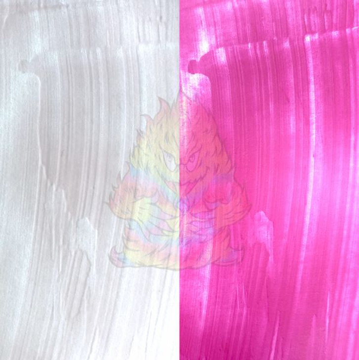 SolarColorDust® - White to Orchid - Sunlight Sensitive