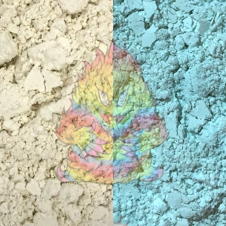 SolarColorDust® - White to Sky Blue - Sunlight Sensitive
