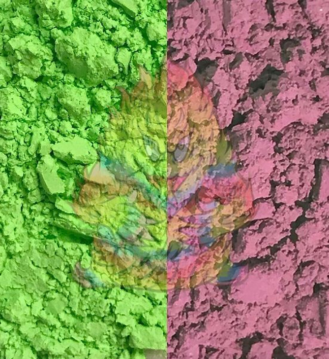 SolarColorDust® - Green to Red- Sunlight Sensitive