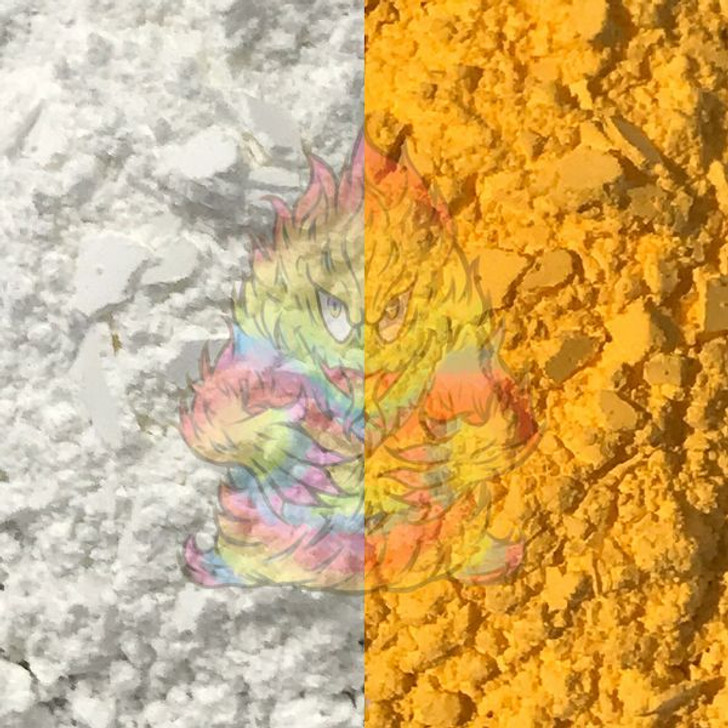 SolarColorDust® - White to Yellow - Sunlight Sensitive