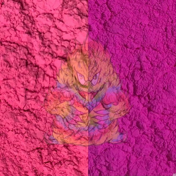 SolarColorDust® - Hot Pink to Violet- Sunlight Sensitive