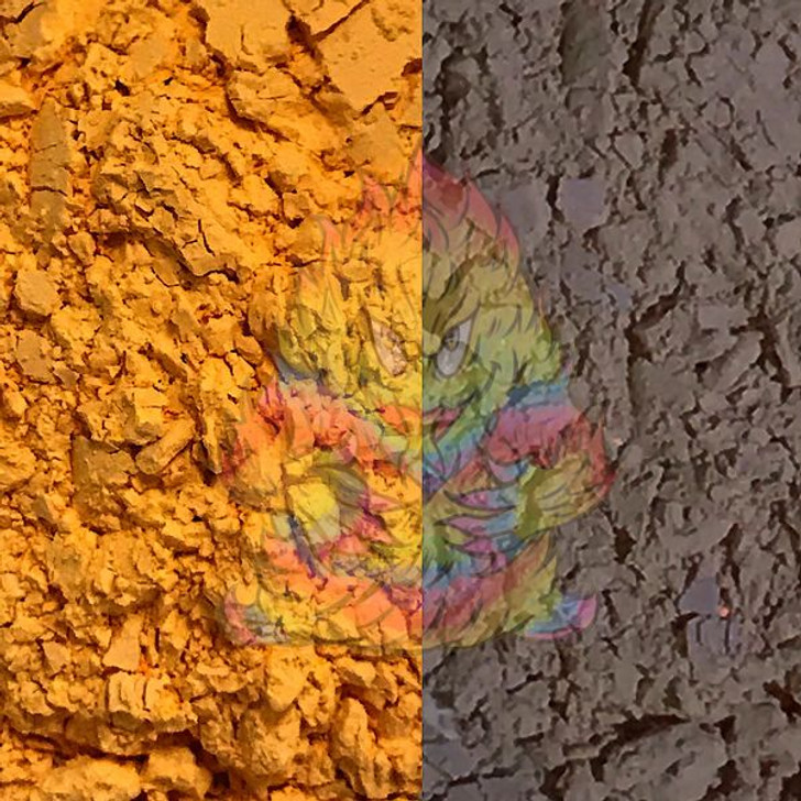 SolarColorDust® - Orange to Blue- Sunlight Sensitive