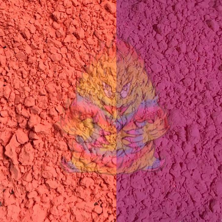 SolarColorDust® - Peach to Violet- Sunlight Sensitive