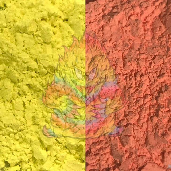 SolarColorDust® - Yellow to Orange- Sunlight Sensitive