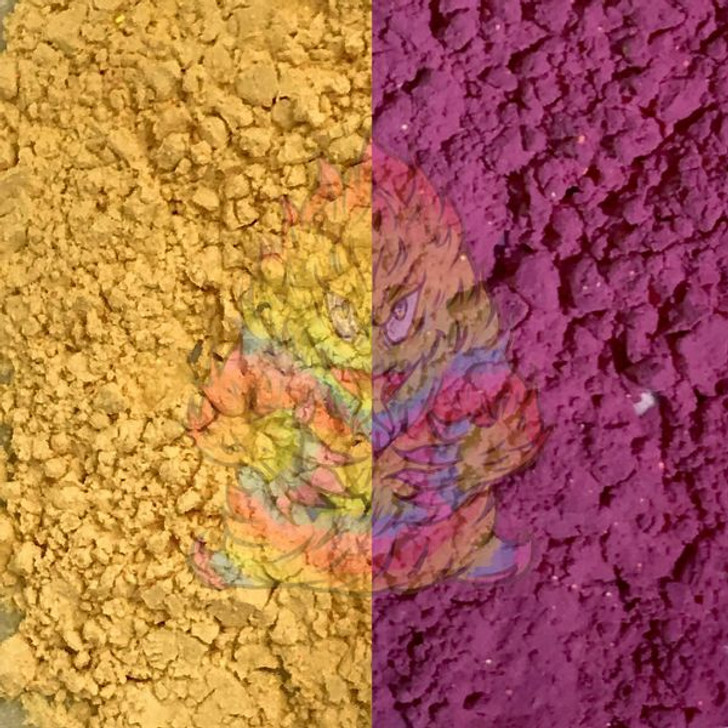 SolarColorDust® - Yellow to Purple- Sunlight Sensitive