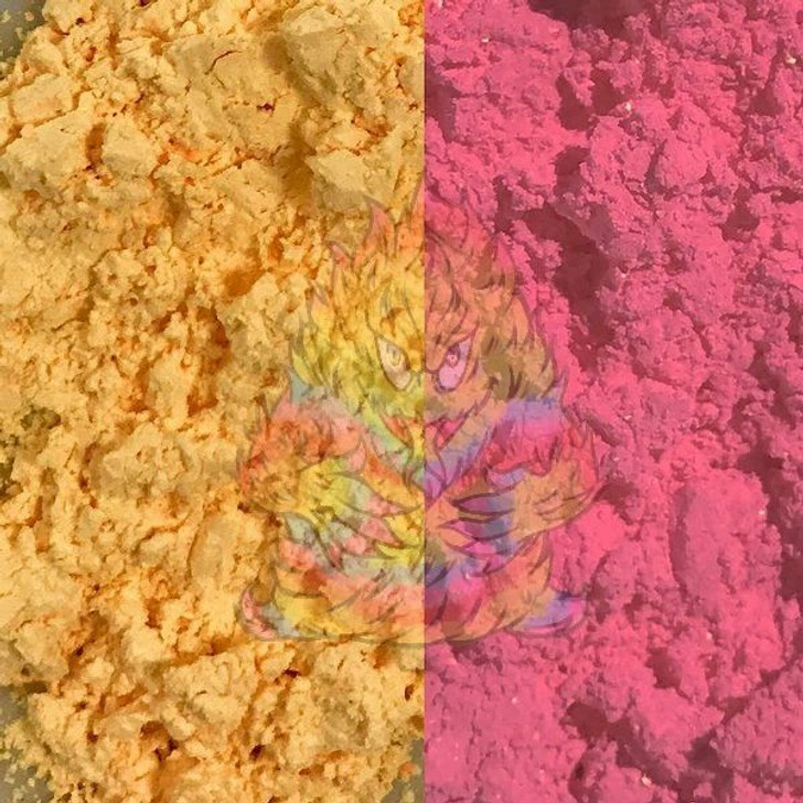 SolarColorDust® - Yellow to Red- Sunlight Sensitive